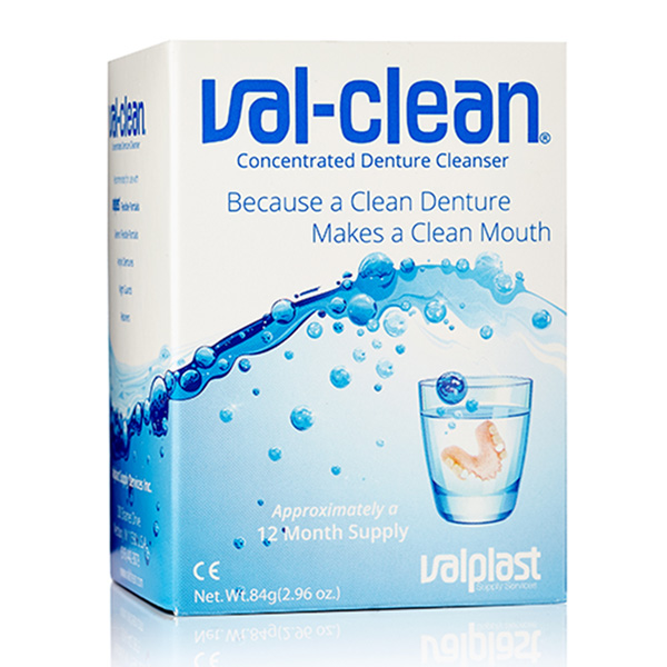 Val-Clean is one of the most favourite denture-soaking products